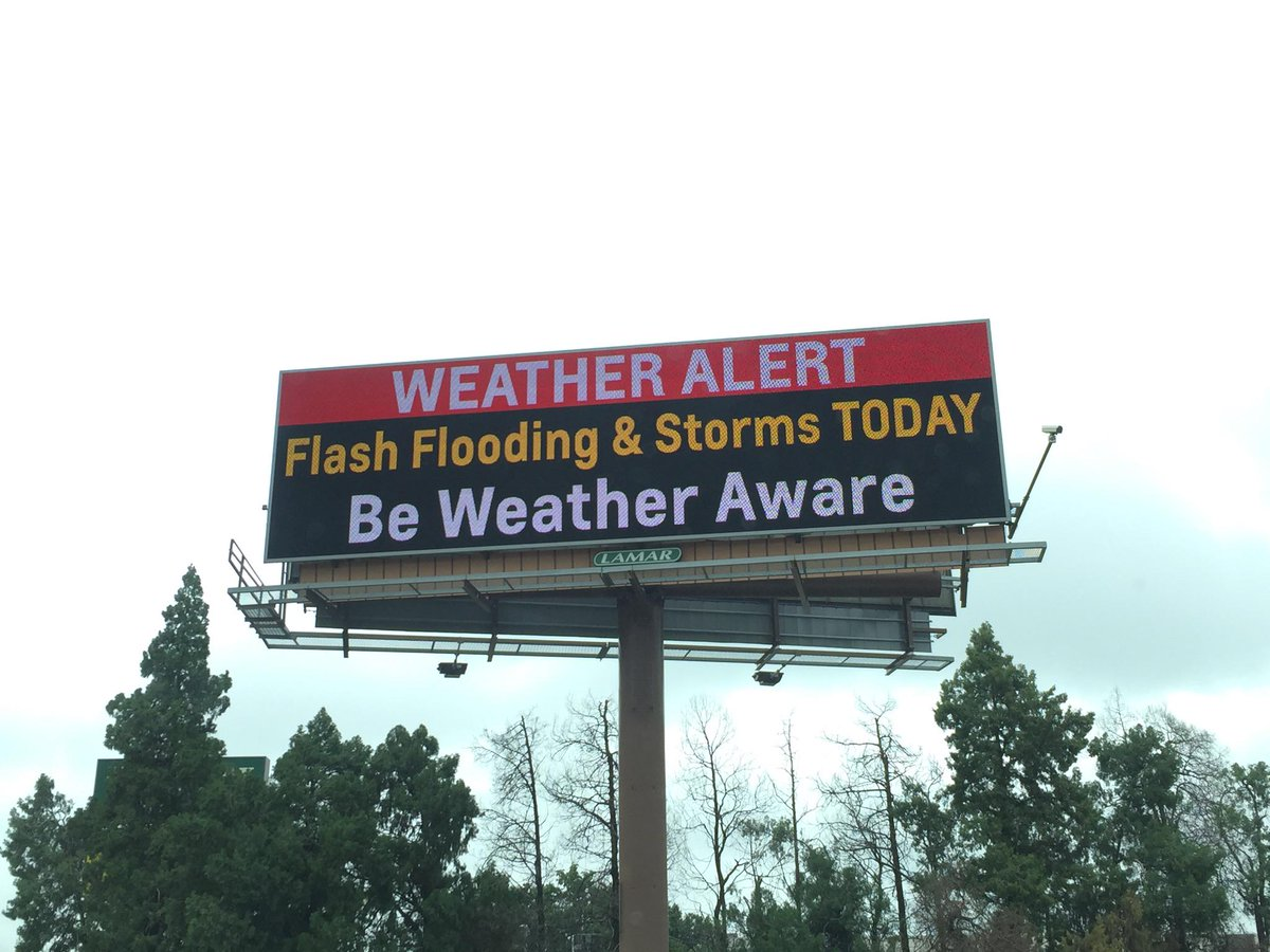 Getting the word out using digital billboards. Thanks @LamarOKC and @NWSNorman! #okwx http://t.co/q2RKC8lesJ