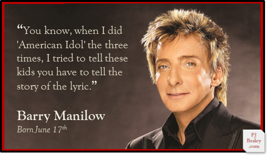 Barry Manilow Birthday Card September 2018 Wholesale