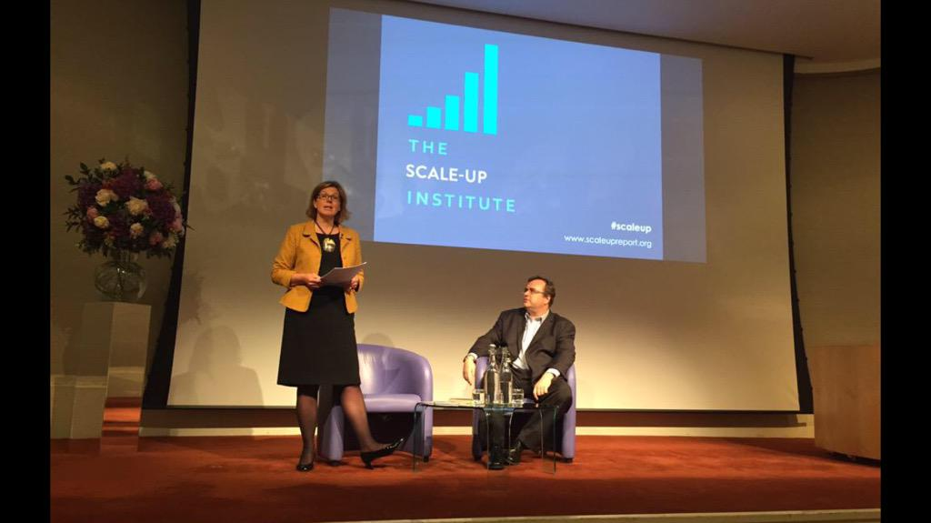 Ambitious businesses in UK get a boost from @reidhoffman and entire industry with new Scale-up Institute #scaleup http://t.co/UMPzTmAZAd