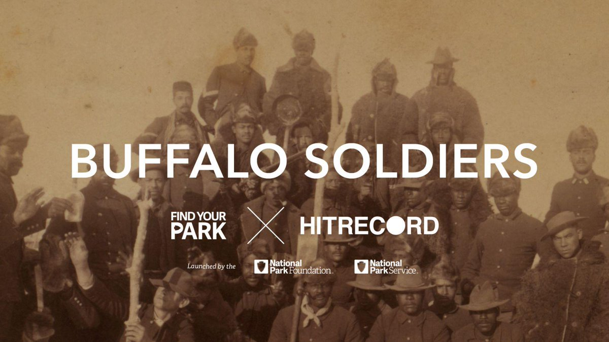 RT @hitRECord: Did you know that the Buffalo Soldiers were among the National Park's first Rangers? WATCH: http://t.co/wJFTD4xms8 http://t.…