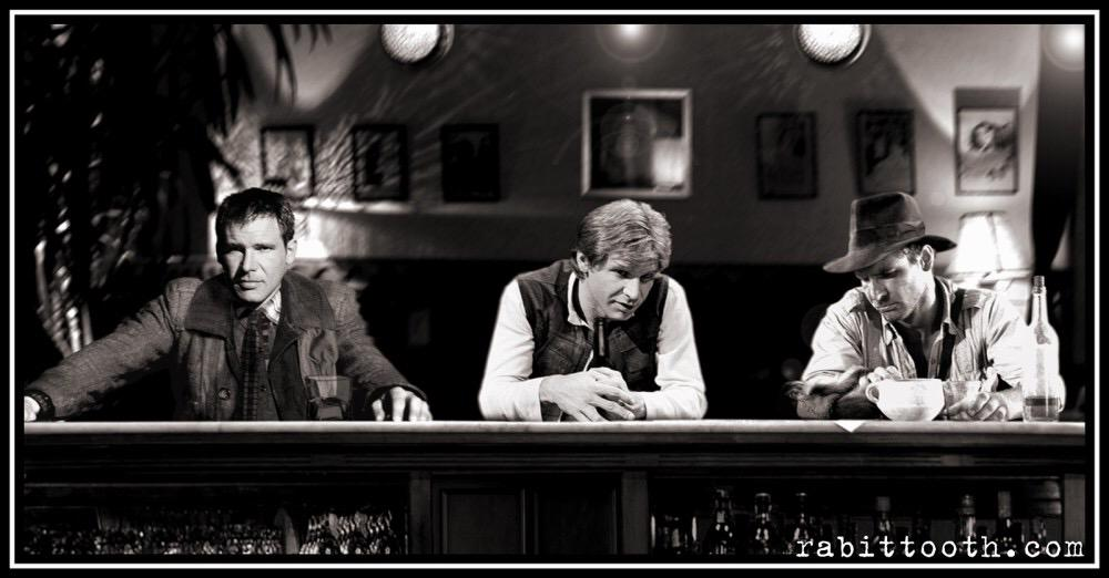 A bounty hunter, a smuggler and an archaeologist walk into a bar… http://t.co/ascAiG8psH