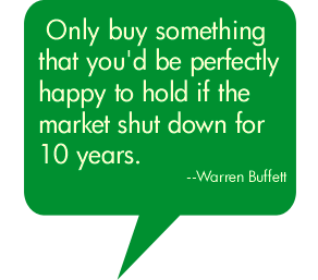 Great reminder from Warren Buffet to remove the emotions from your purchases. http://t.co/4FYYQd1FUu
