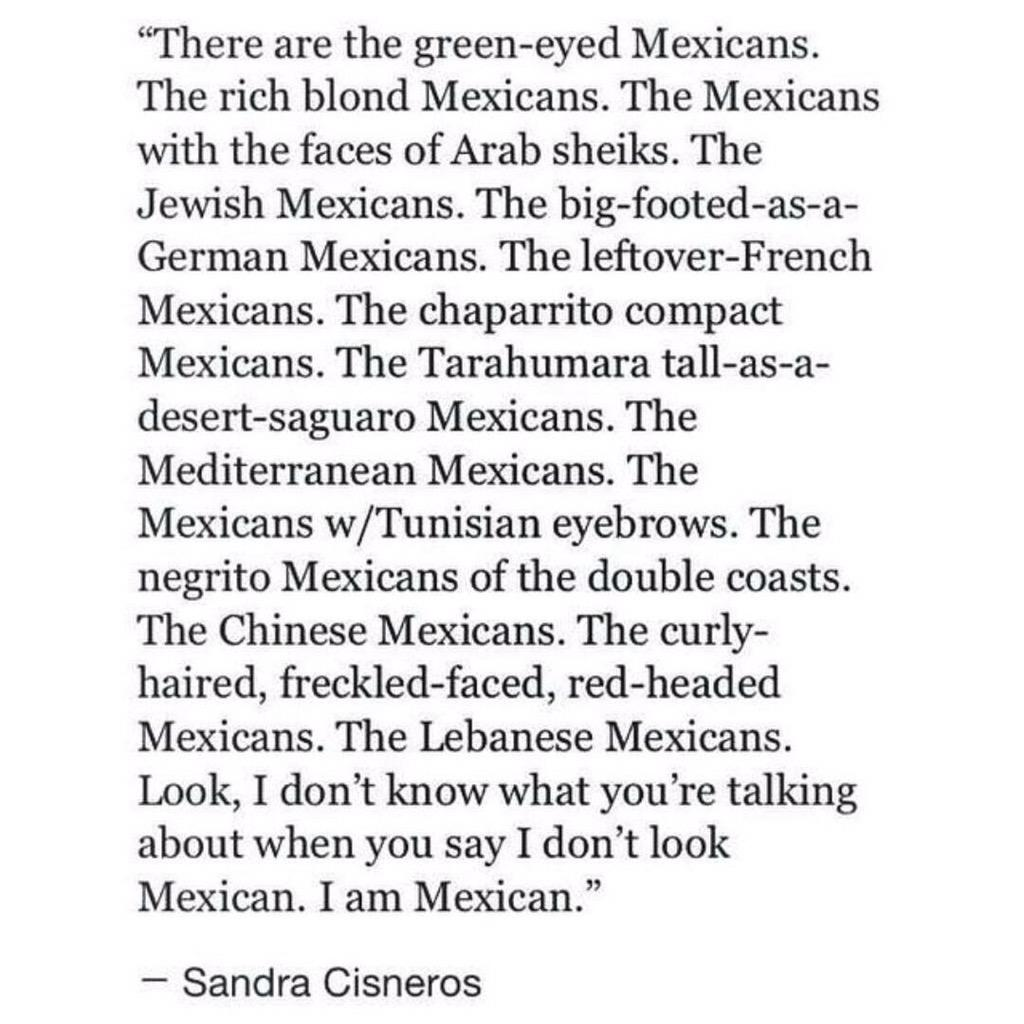 """""""What do you mean, I don't look Mexican?"""" http://t.co/x6uEYynf1z"""