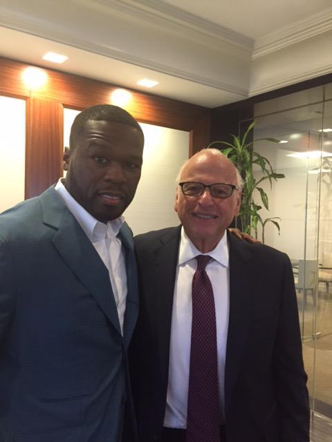 Me and NY Real Estate MOGUL Howard Lorber talking  Big business. #SMSAUDIO #EFFENVODKA #FRIGO http://t.co/CMjVmtY1UW