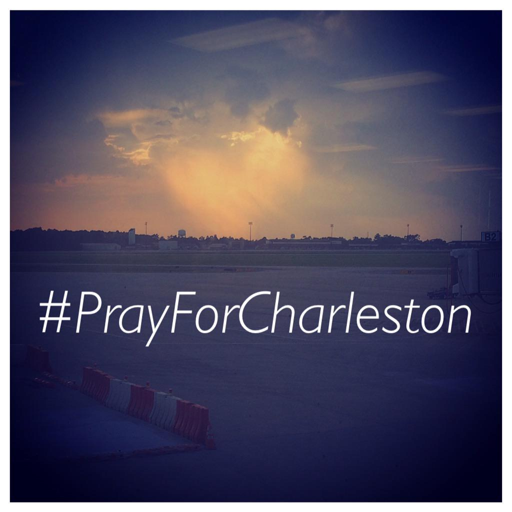 Took this picture of a heart in the sky in #charleston earlier today. So appropriate now. #PrayforCharleston http://t.co/dhngPqceut