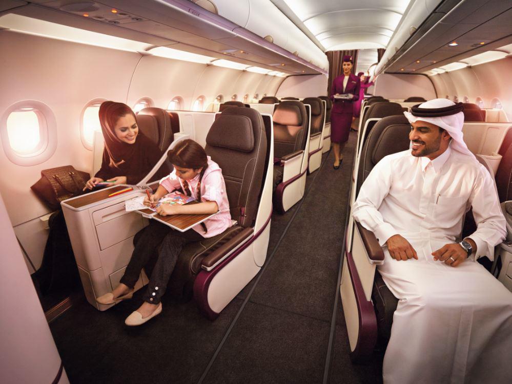 Coinciding with Ramadan, QatarAirways launches an All-First Class service to Jeddah.