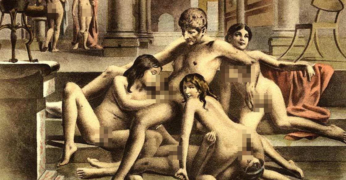 Porno photo d'échangistes orgie