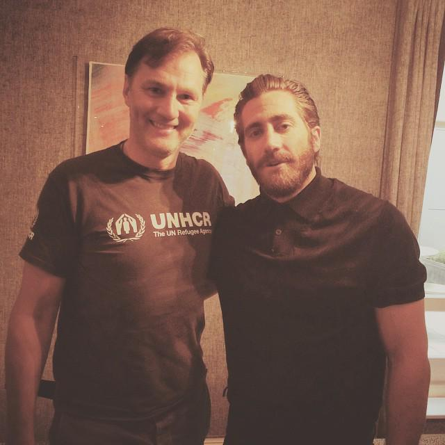 Coming soon on @wittertainment - @davemorrissey64 talks to Jake Gyllenhaal about #Southpaw, #Boxing and more. http://t.co/grlyGUakcB