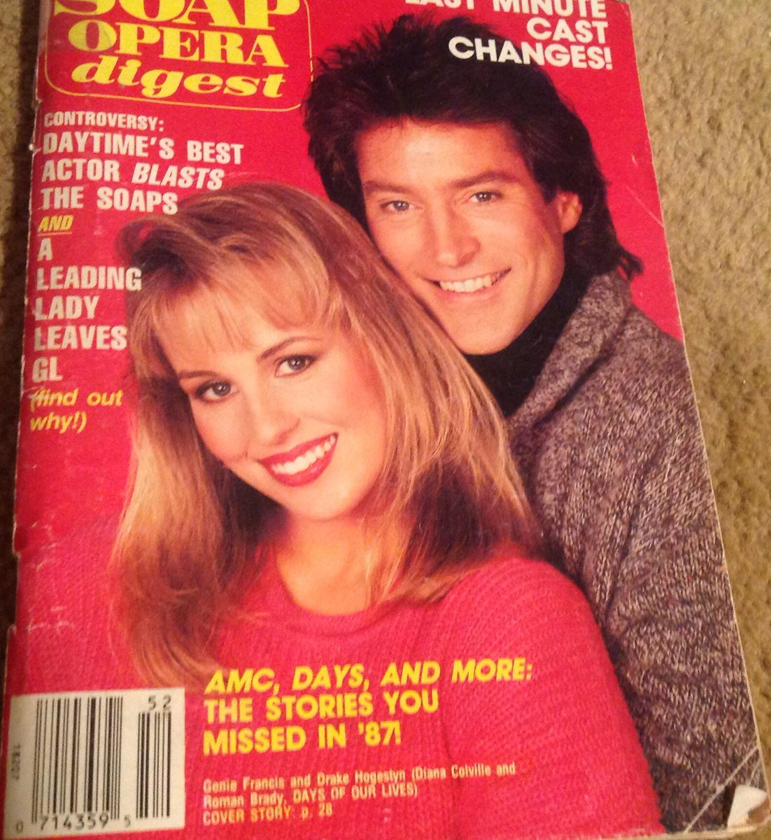 @DrakeHogestyn @GenieFrancis #TBT One of the funnest daytime couples of all time @GenieFans @WeLoveSoapsTV http://t.co/ZTbHYsTjqC