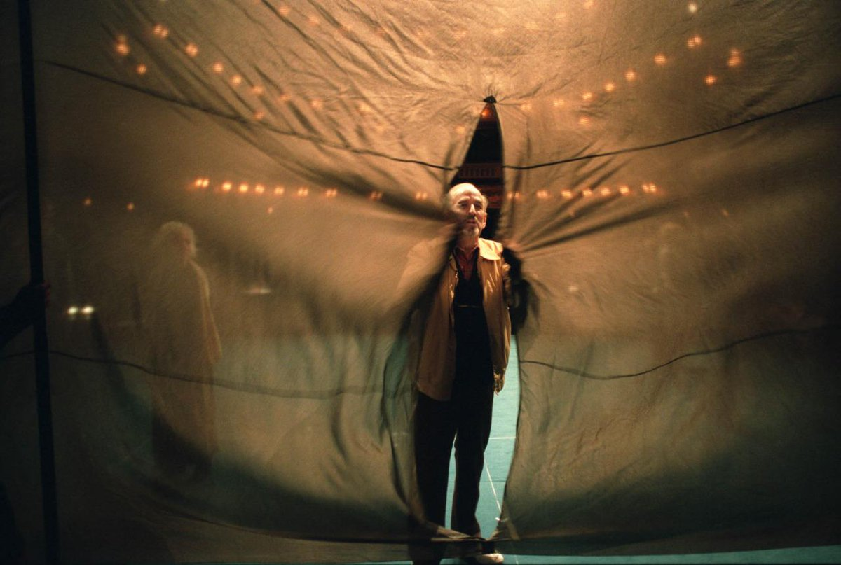 Ingmar Bergman on stage http://t.co/PX4QNS5i40