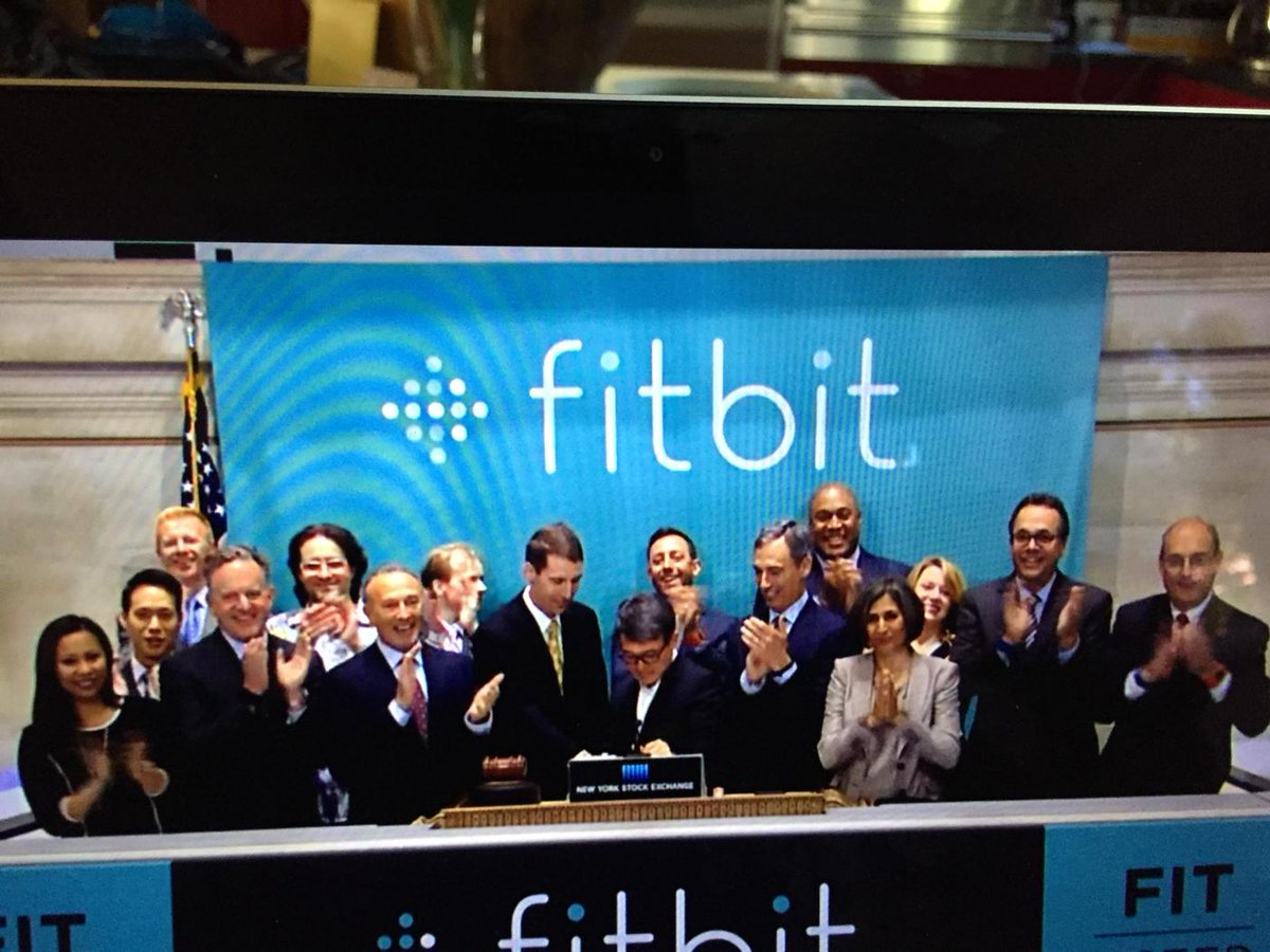 So happy for @fitbit along @bfeld being the best dressed guy on Wall Street! http://t.co/k2p8JX5Qpg