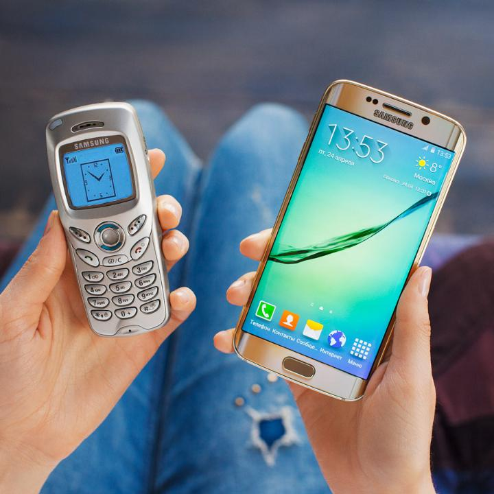 Throwback Thursday is here, do you remember your first Samsung phone? #TBT http://t.co/q6xP0eDpST