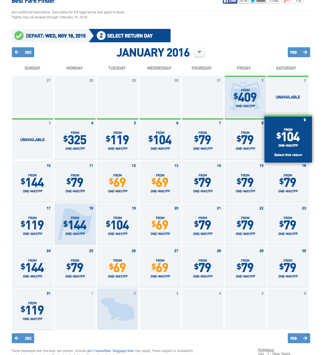 RT @airfarewatchdog: Baltimore-Ft. Lauderdale $69 each way JetBlue fall/winter nonstop