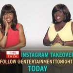 RT @etnow: .@AishaTyler and @SherylUnderwood are having fun on ET's Instagram today! Follow us here: http://t.co/sTPxFsFKMJ http://t.co/Lt4…