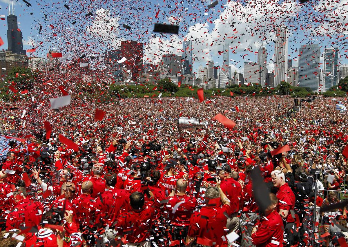 We Kane. We Shaw. We Crawford. And we're still celebrating! #BlackhawksRally #CupTracker https://t.co/gHY4evqK06 http://t.co/01LY5WE03y