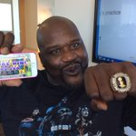 Congrats to the new NBA champions from an old NBA champion. Now lets play #CaddySHAQ http://t.co/MJmivPTJJy LETS GO! http://t.co/pH8fOcwvUd
