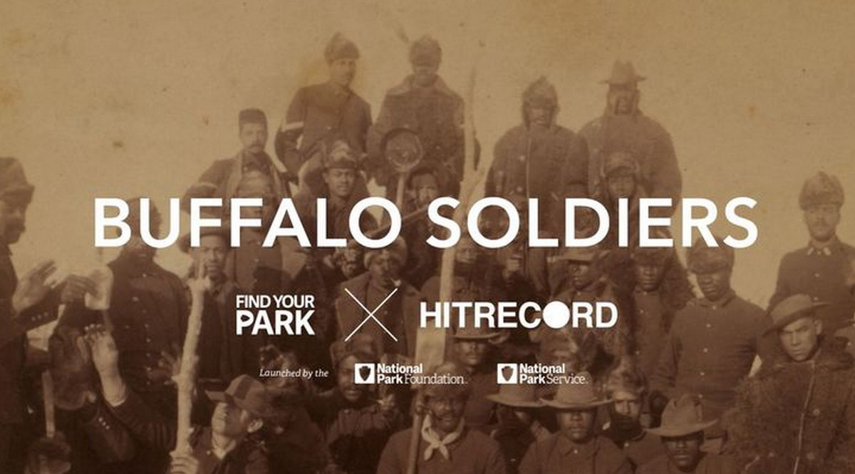 RT @hitRECord  Come make art w/ us around the legendary Buffalo Soldiers - http://t.co/kfS1BlIWoU  #FindYourPark http://t.co/E0rI7whSjd