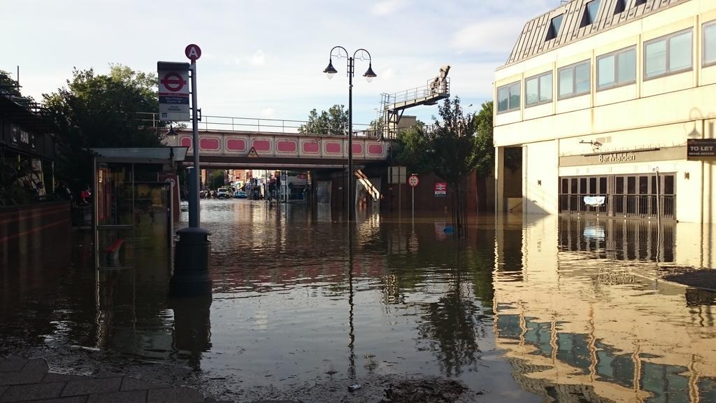 Flood photos in New Malden http://t.co/VIryv4XSn6