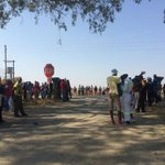 RT @Nontobek0Sibisi: #EFF Supporters waiting for Julius Malema outside #Marikana SAPS http://t.co/CYPlk6vb4S
