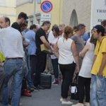 Yara: comincia il processo, Bosetti in aula. Il tribunale di Bergamo sotto assedio http://t.co/gaUj1QVwrX http://t.co/HzZyVgFLzP