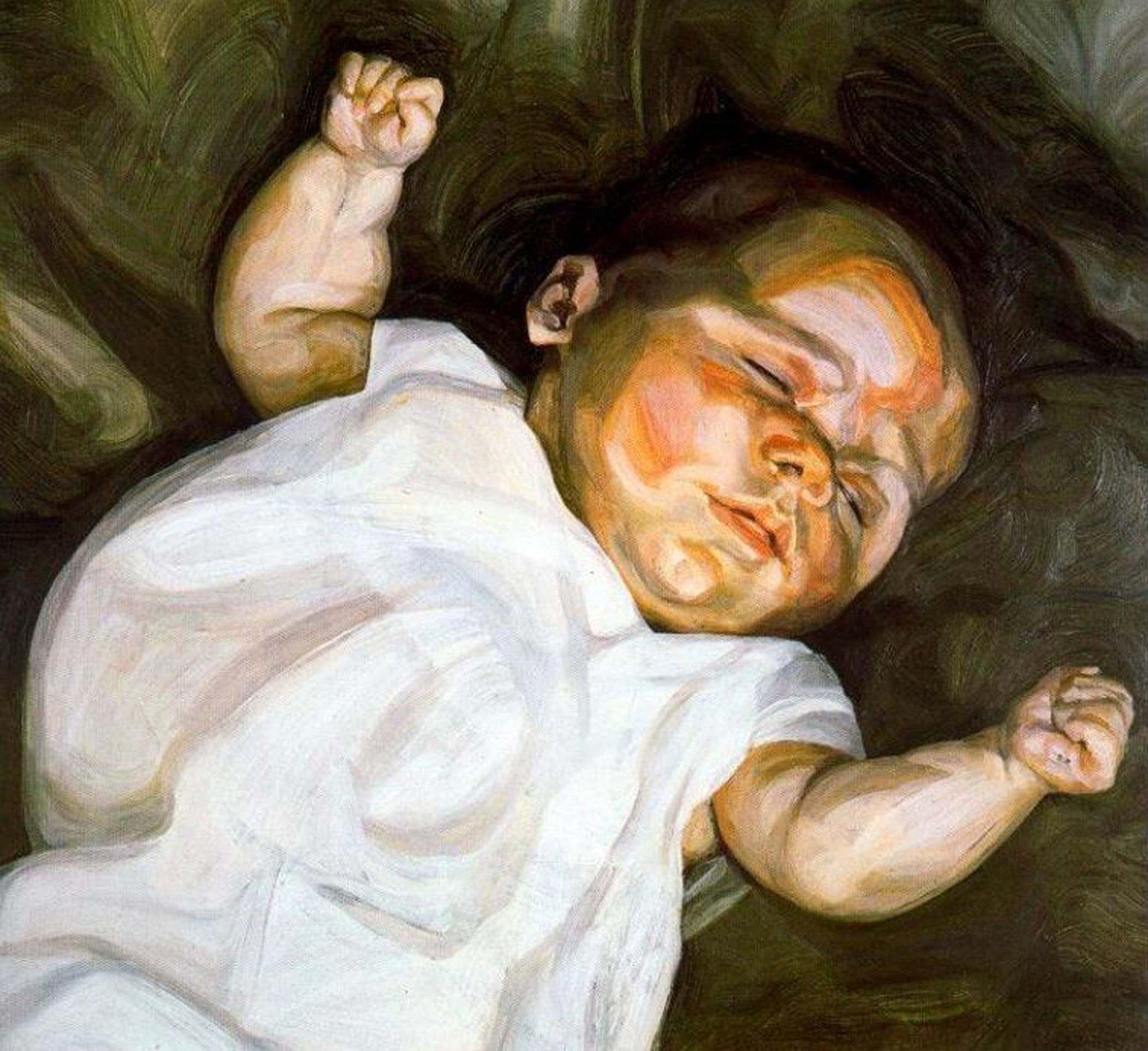 """""""Si sveglia... tra voci e muri che non conosce, in una stanza piena di cugini. Una madre diversa"""" #LucianFreud http://t.co/ZWcb0roLlc"""