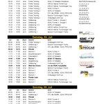 Zeitplan für das Wochenende / This weekend´s schedule @Lausitzring_de http://t.co/bYya1u88Da