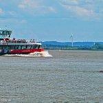 So, dann schippern wir mal langsam ins Wochenende! #Hamburg #Elbe http://t.co/qhtLCVCvM6