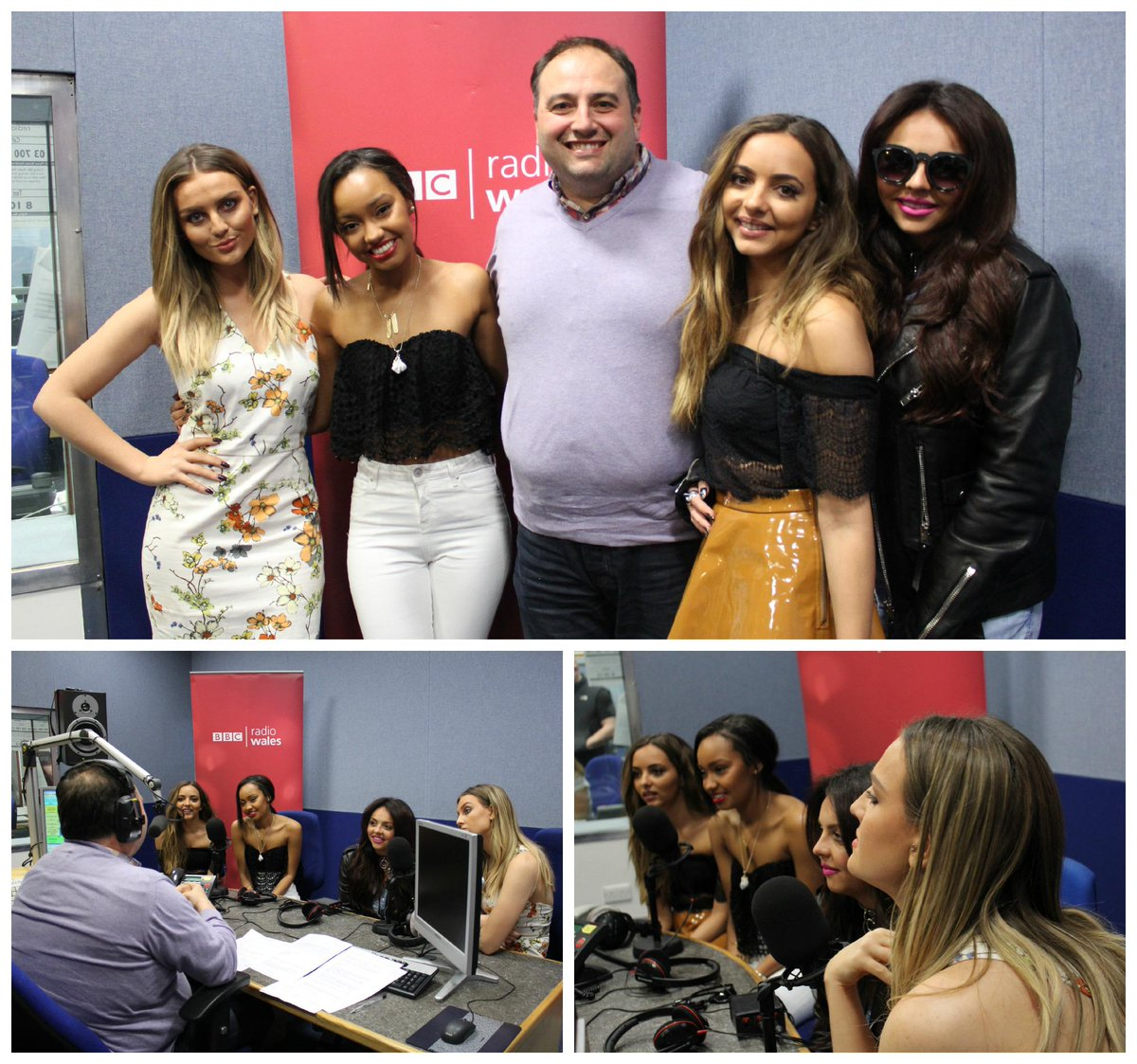 LISTEN LIVE: @LittleMix talk Black Magic with @wynneevans @LittleMixerHQ @LittleMixTeam_ http://t.co/ebK78AEoCc http://t.co/wBUIF6xwWS