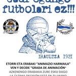 "URGENTE Hoy 19:00 Le Suite, votamos ""Oferta"" del club sobre Grada Animación. Ven y Decide!! #mendizorrotzabizirik http://t.co/QtdS8dG9s6"