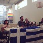 """.@agarzon """"en Grecia se está jugando una cuestión política: si decide el pueblo o los mercados"""" #decimosNoconGrecia http://t.co/zb6nyu3zd3"""