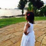 Li'l one enjoying the view #Krabi http://t.co/2UIiiSPvqs