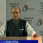 #DigitalIndia LIVE: Shri @arunjaitley addressing at the #DigitalIndiaWeek launch by PM Shri @narendramodi. http://t.co/cThIiUTqVM