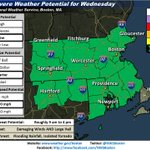 Strong/severe thunderstorms possible today Heavy rains, localized flooding, strong wind gusts/hail, isolated tornado http://t.co/5c8XehJ0If