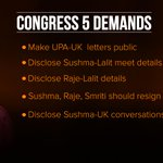 Modi Sarkar should reveal all communications with UK authorities on Lalit Modi, starting from UPA tenure. #ModiGate http://t.co/2o157hDKbD