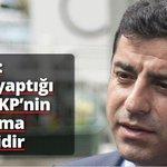 Demirtaş: MHPnin yaptığı her şey AKP'nin önünü açma hamleleridir http://t.co/QjlZOV9lDs http://t.co/JJIfvUXNPw