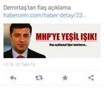 HDP nin MHP ye bakış açısı şöyle : Bizimle görüşmez, bizim istediğimiz koalisyonu kurmazsanız faşistsiniz. http://t.co/7N3DALbbtz