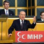 """MHP lideri Bahçeliden """"koalisyon görüşmelerine karşı durmayız, peşinen yüz çevirmeyiz"""" mesajı http://t.co/94hiTuY5Fy http://t.co/HvYEojX5Dm"""