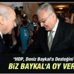 MHP kendisini HDP ye göre programlamış sanki. Varlık sebebini unutmuş. Artık MHP yi HDP yönetecek demektir @sollcephe http://t.co/WdOGvloxip