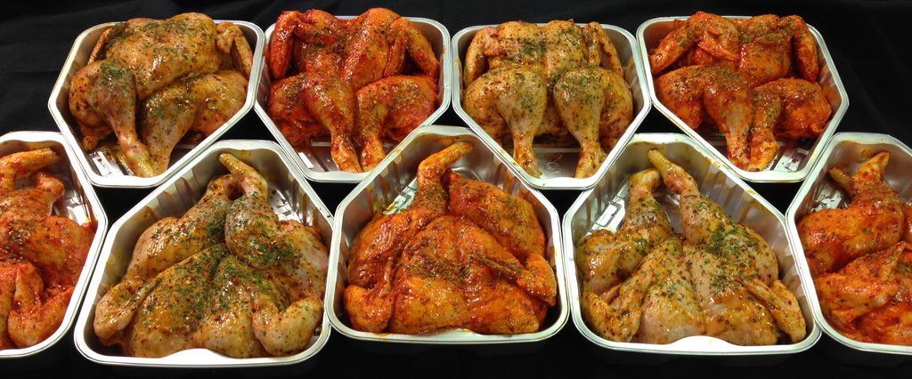 RT @milson_dave: Ready for alfresco dining!! @Trendallsltd Piri-Piri & Ginger Lemon & Chilli Marinated Spatchcocked Chickens @Oundle http://t.co/AEUioJb5yz