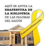 Ciudadanos y PP, Torres Hurtado y Luis Salvador comunican que en breves fechas se abrirá la Biblioteca de las Palomas http://t.co/faMRkdie0v