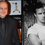 RT @ieEntertainment: .@AnupamPkher pays tribute to Marlon Brando  http://t.co/a7UWTbZJhB