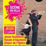 #SCENEENVILLE jeudi à 19h30. Concert gratuit dans la cour de lhôtel de ville http://t.co/NR8glJQJbL http://t.co/eU26ZtOKDU