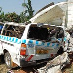 Three confirmed dead, 40 injured in accident at Katende, Masaka Road http://t.co/pClx2DDbuj http://t.co/IARSHazHyD