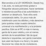 Bienvenidos a la Ley Mordaza... http://t.co/EW5zjOyxaO