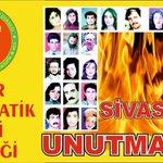 #SivasKatliamınıUnutma 2 Temmuz Perşembe günü saat 18:30da Konak Sümerbank Önündeyiz! #2TemmuzSivasKatliamı #İzmir http://t.co/nW9q9pEzYf