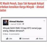 Yang tulis statement ni cuba gaji dia bawah 1k. Baru akal penuh kot. Menteri sarkas abad ini. #BeStrongMalaysian http://t.co/PsB1RYTsnN