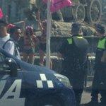 Ahora mismo en Cibeles FEMEN protestando contra la Ley Mordaza.¡Bravo! #LaCafeteraAmordazada http://t.co/qhLhaPJRtQ