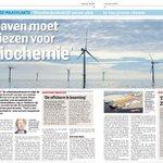 Moet de @HavenRotterdam kiezen voor biochemie? @janrotmans legt het uit in @RDVoornePutten #Offshore #Port #Rotterdam http://t.co/zw9EGxxukp