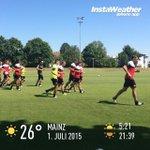 #training #Mainz05 ☀️☀️☀️ http://t.co/e8fF3nt5Ai