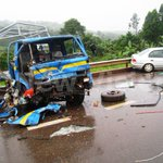 PHOTOS from the Masaka Road accident. Three confirmed dead. http://t.co/pClx2DDbuj http://t.co/sAgUGpM2aD